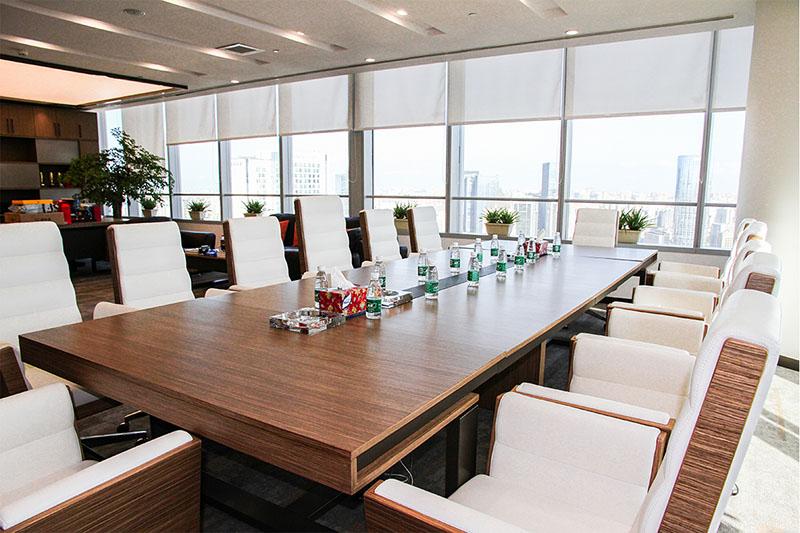 川融集团会议室